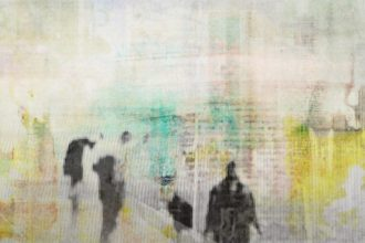 abstraktes Bild #20