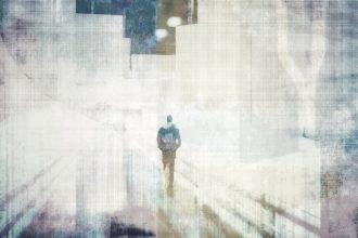 man on the way